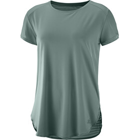 Salomon Comet Breeze T-shirt Femme, balsam green